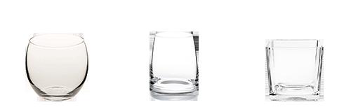Vermietung : Glasschälchen
