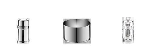 Vermietung : Salz-und Pfefferstreuer sowie weitere Behälter