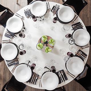 Vermietung von Tischkunst-Materia
