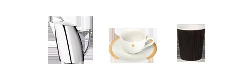 Vermietung : Kaffee- und Teezubehör