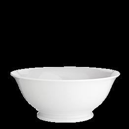 Salatschüssel Porzellan weiss Ø 25 cm H 10 cm 200 cl
