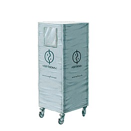 Regalwagen Patisserie geliefert mit isolierender Plastikhülle