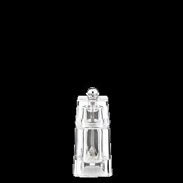 Salzmühle Plexi H 11 cm (o. Salz geliefert)