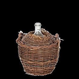 Vintage Glasflasche Eau de Vie (grosses Modell) Ø 53 cm H 50 cm