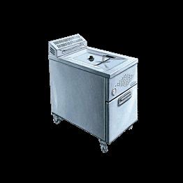 Friteuse elektrisch 16 Liter - 380 V - P 17
