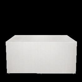 Buffet klappbar mit weiss Husse 80 x 100 cm 4 Seiten abgedeckt au