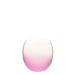 Bubble matt rosa Ø 6.5 cm H 6.5 cm 15 cl