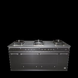 Buffet klappbar Gastro-Look Chafing-Dish 100 x 200 cm