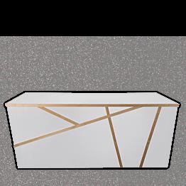 Buffet klappbar Sakiro weiss 100 x 225 cm