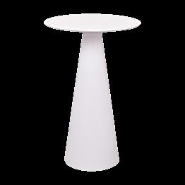 Stehtisch Ikone weiss Ø 69 cm H 106 cm