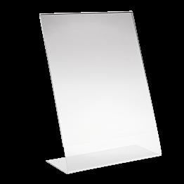 Menu Ständer aus Plexiglas A4