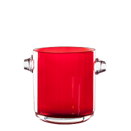 Eiskübel rot Ø 13,5 cm H 15 cm
