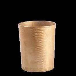 Windlicht golden Aman Ø 8,5 cm H 9,5 cm