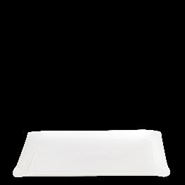 Tablett Soft weiss 24 x 18 cm