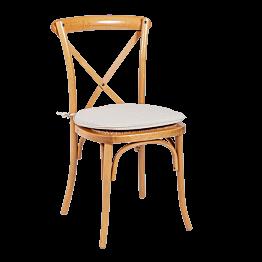 Stuhl Saint Rémy mit ecru Sitzkissen