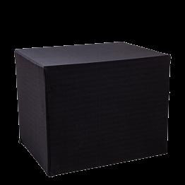 Serviertisch klappbar mit schwarzer Husse 90 x 70 cm H 72 cm