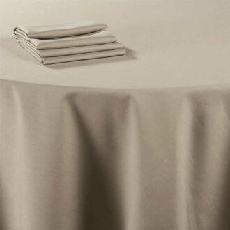 Tischtuch Leinen Chaume 240 x 240 cm