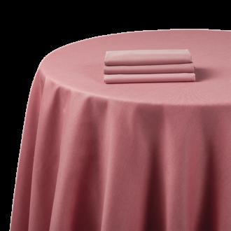 Tischtuch Chintz rosa 270 x 270 cm