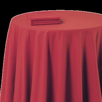Tischläufer Chintz rot 50 x 270 cm feuerfest