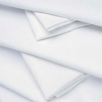 Tischläufer Leinen weiss 50 x 270 cm