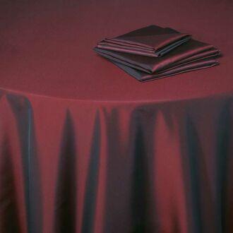 Tischtuch Toscana rot opera 210 x 210 cm
