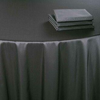 Tischläufer Toscana stahlgrau 50 x 270 cm