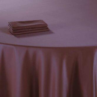 Tischläufer Delhi prune 50 x 270 cm feuerfest