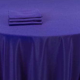 Tischtuch Tiefblau 210 x 210 cm