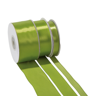 Seidenband Anisgrün - Breite: 38 mm - Rolle mit 25 m