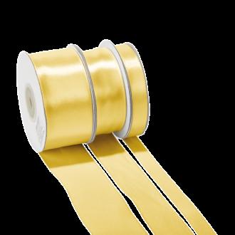 Seidenband Gold – Breite: 12 mm – Rolle mit 25 m