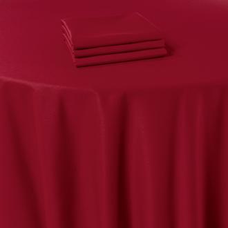 Tischläufer Marjorie rot 50 x 270 cm feuerfest
