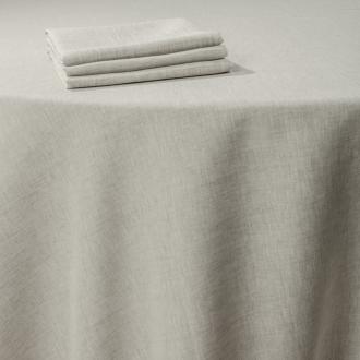 Tischtuch Leinen schnurfarbe 290 x 290 cm