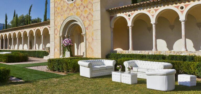 Lounge im Schloss