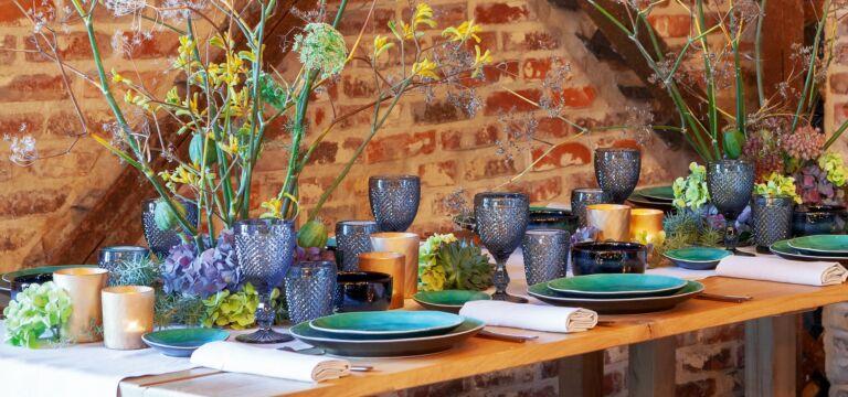 Abendessen im Cottage