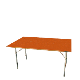 Tisch rechteckig 100 x 200 cm
