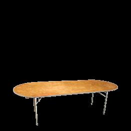 Tisch oval 100 x 250 cm
