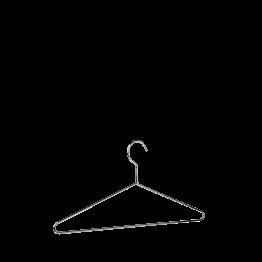 Kleiderbügel chrom
