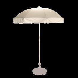Sonnenschirm weiss Ø 180 cm