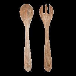 Salatbesteck Holz