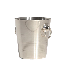 Weinkühler Silber Ø 20 cm H 20 cm