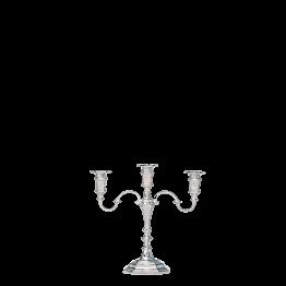 Kerzenleuchter 3-armig Silber H 25 cm