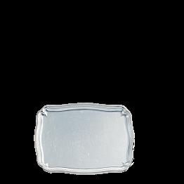Platte Silber 30 x 40 cm