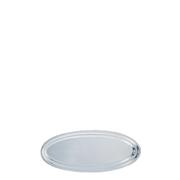 Platte oval Silber 60 cm