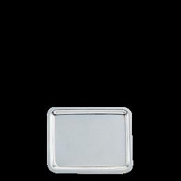 Tablett Silber 15 x 20 cm