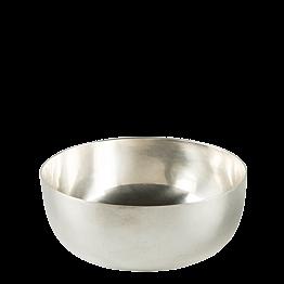 Bowl silber Ø 11,5 cm H 5,5 cm 40 cl