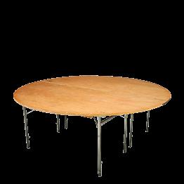 Tisch rund Ø 200 cm C3 feuerschutzbehandelt