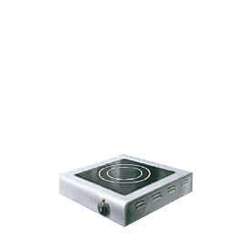 Glaskeramik-Rechaud : 1 Heizfläche