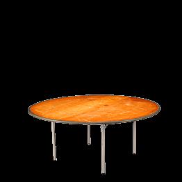 Tisch rund Ø 150 cm feuerschutzbehandelt