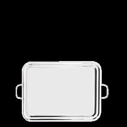 Platte mit Griffen Inox 47 x 60 cm
