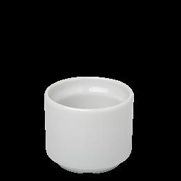 Eierbecher Porzellan weiss Ø 4,5 cm H 4 cm 4 cl